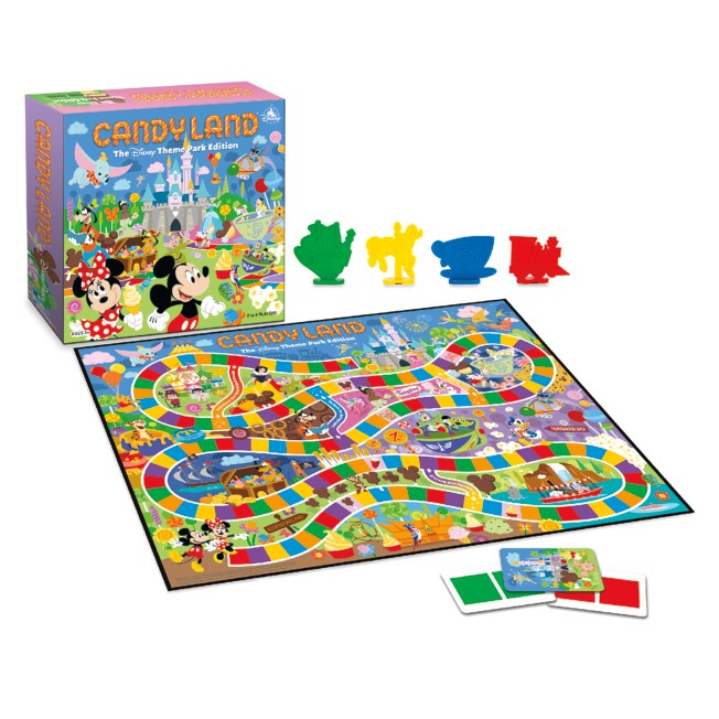 Candyland The Disney Theme Park Edition Game