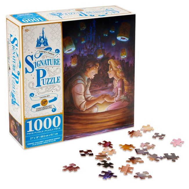 Tangled 10th Anniversary Jigsaw Puzzle