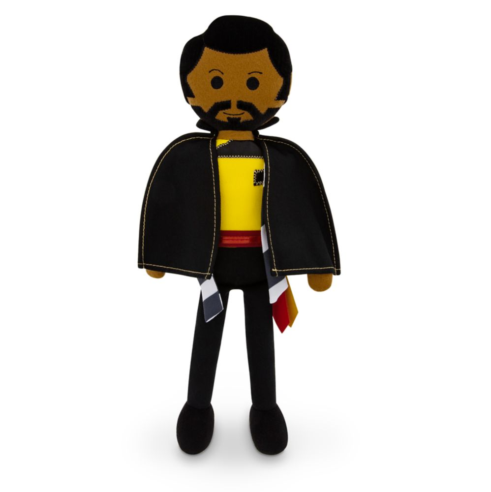 Lando Calrissian Plush – Star Wars: Galaxy's Edge – Medium 13''