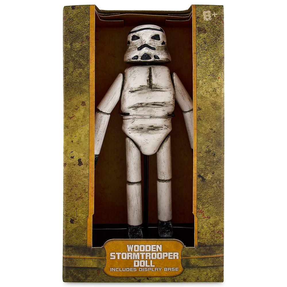 Stormtrooper Wooden Doll – Star Wars: Galaxy's Edge
