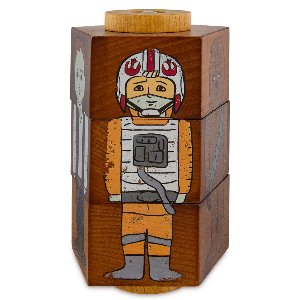 Star Wars: Galaxy's Edge Heroes Wooden Puzzle