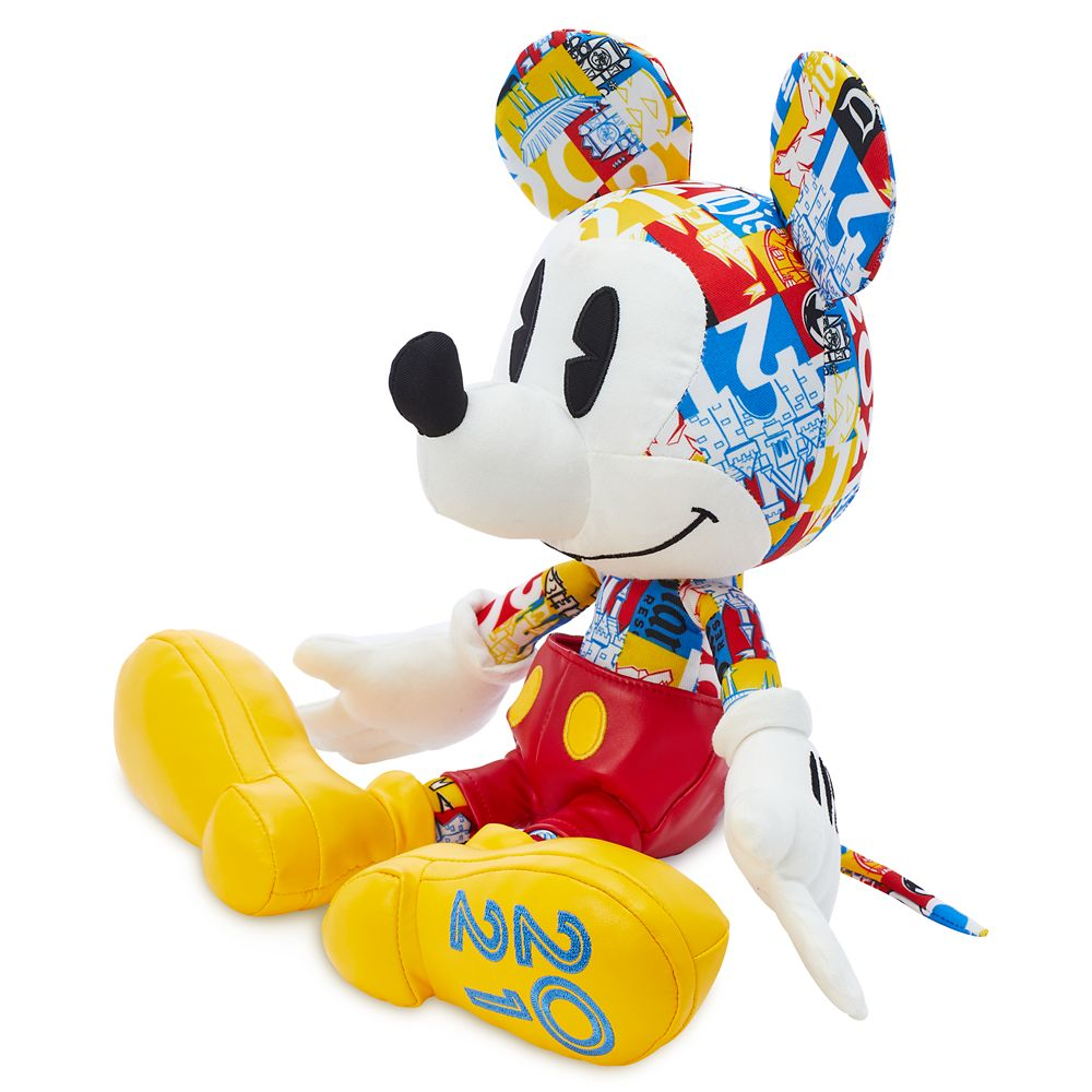 Mickey Mouse Plush – Disney Parks 2021 – Small 10''