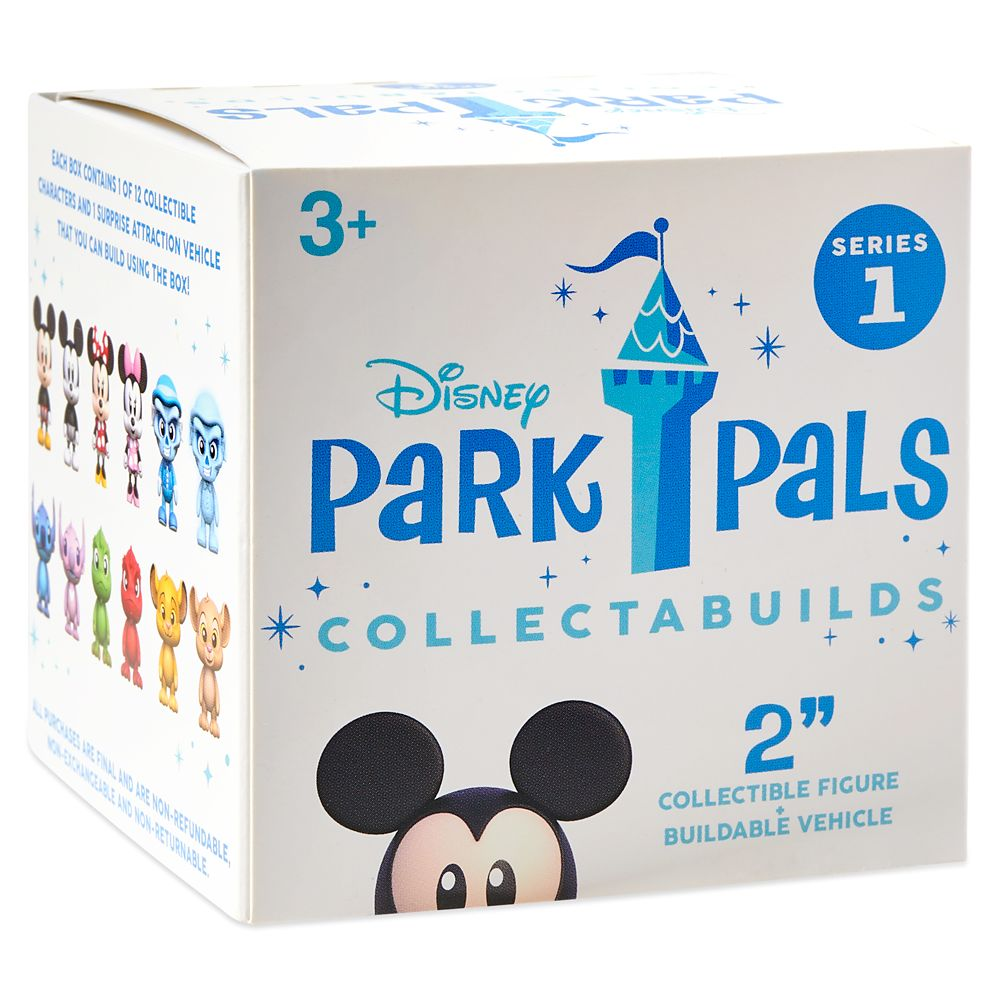 Disney Park Pals Collectabuilds Mystery Figure and Ride Vehicle Series 1