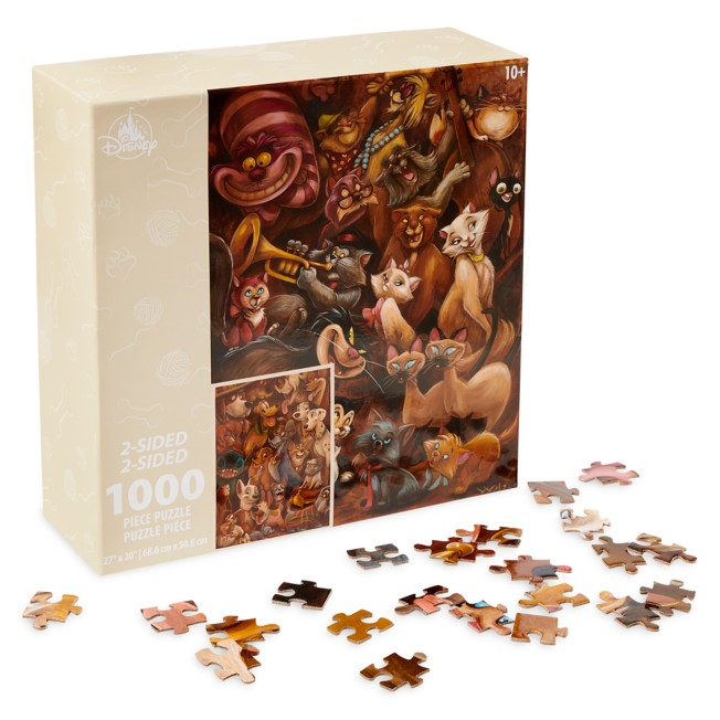 Disney Cats and Dogs Two-Sided Puzzle