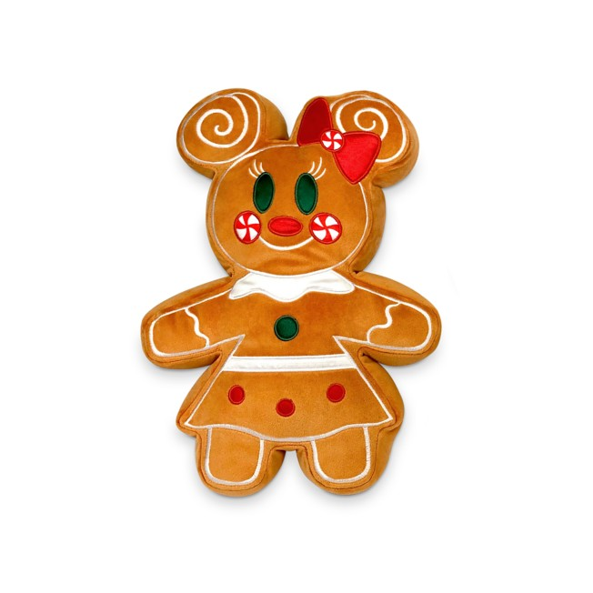 Minnie Mouse Gingerbread Scented Plush – Small 12''