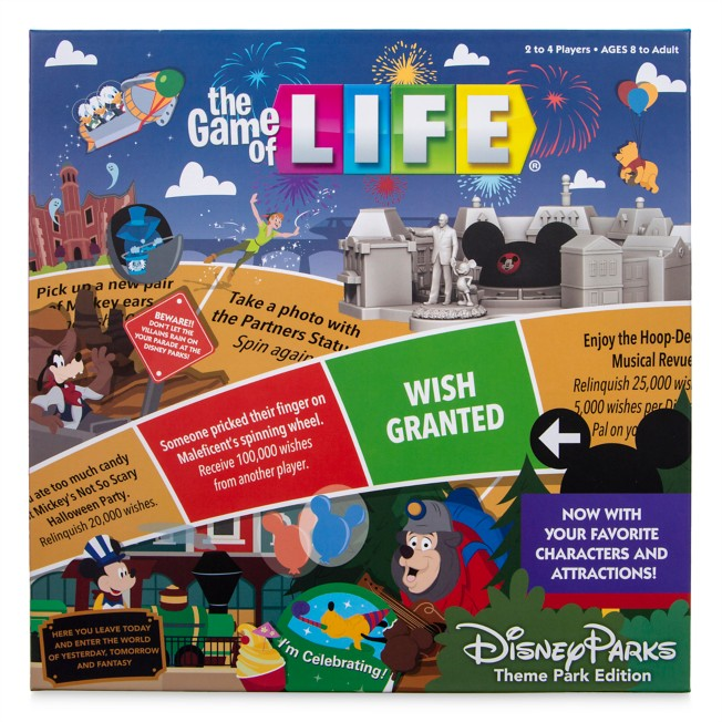 The Game of LIFE – Disney Parks Theme Park Edition