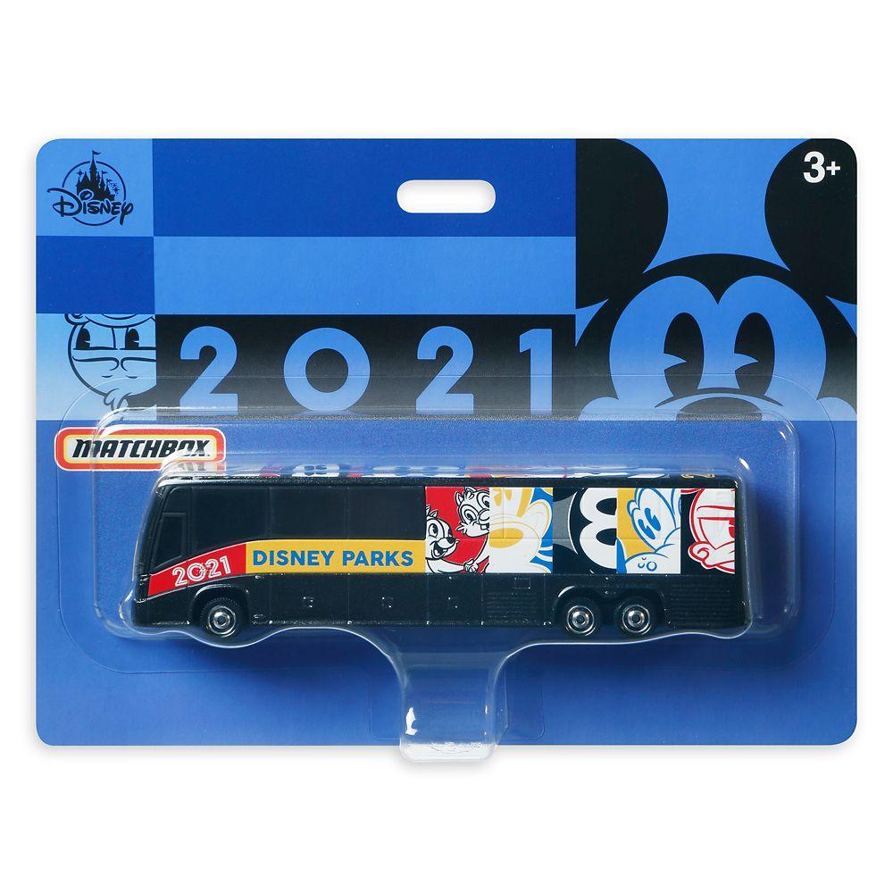 Disney Parks Toy Bus 2021 by Matchbox