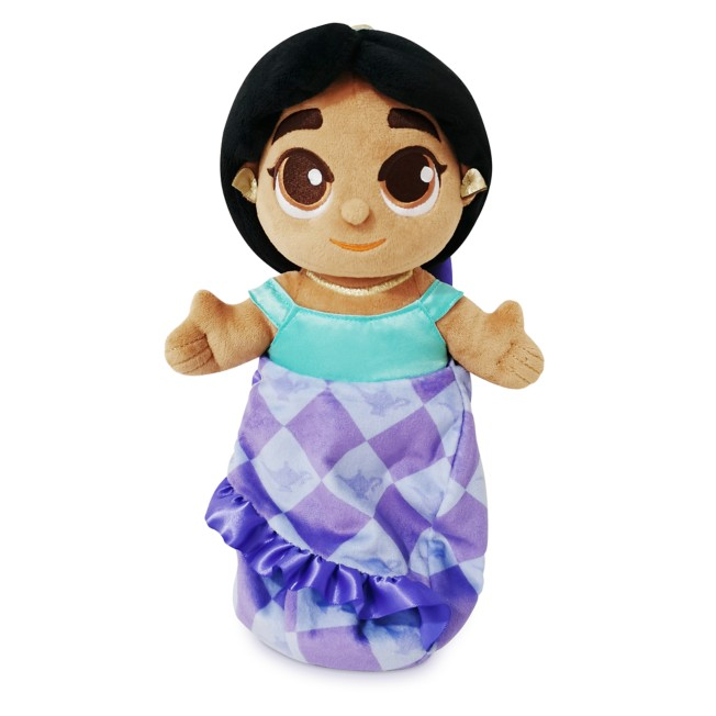 Disney Babies Jasmine Plush Doll in Pouch – Small 10''