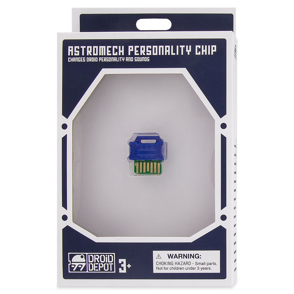Droid Depot Astromech Personality Chip – Resistance – Blue – Star Wars: Galaxy's Edge