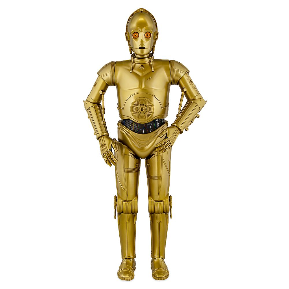 C-3PO Interactive Protocol Droid Figure – Star Wars: Galaxy's Edge