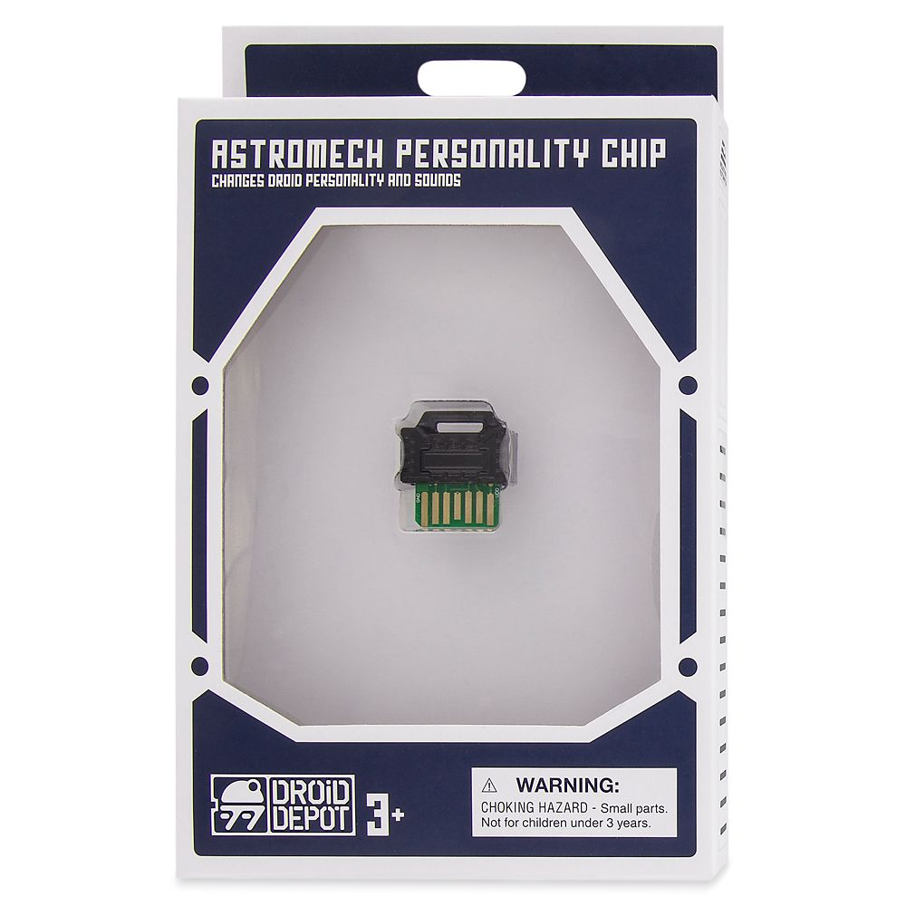 Droid Depot Astromech Personality Chip – First Order – Black – Star Wars: Galaxy's Edge