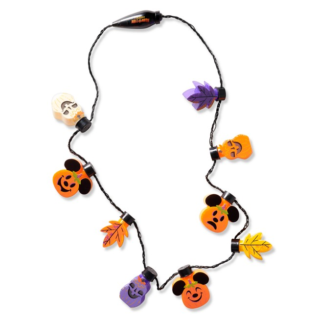 Mickey Mouse Happy Halloween Light-Up Necklace