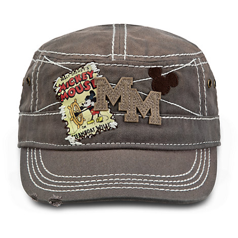 Mickey Mouse Painter's Cap for Adults - Steamboat Willie