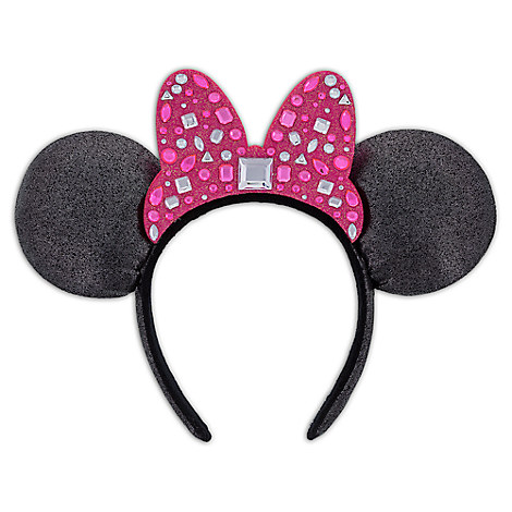 Minnie Mouse Ear Headband - Gemstones