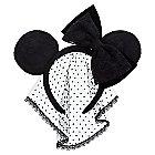 Minnie Mouse Ear Headband - Lace Veil