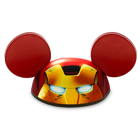 Iron Man Ear Hat for Adults