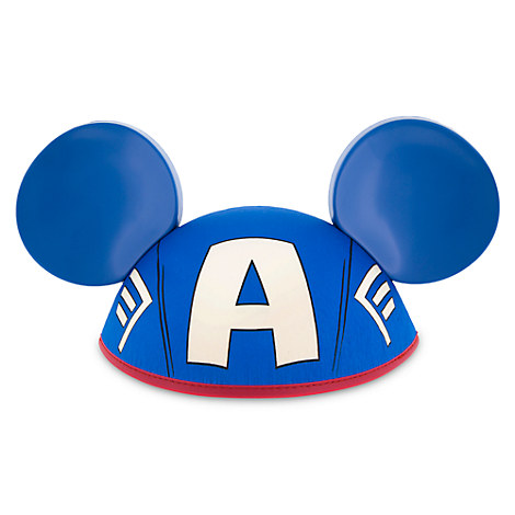 Captain America Ear Hat for Adults
