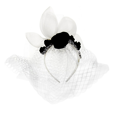 The Haunted Mansion Bride Headband for Adults