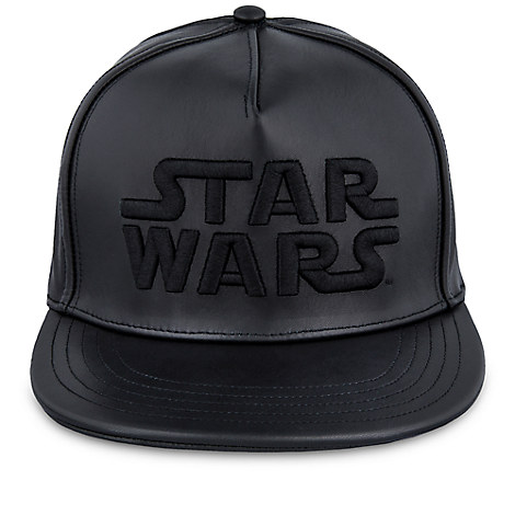 Star Wars Dark Side Leather Baseball Cap for Adults - Limited Release