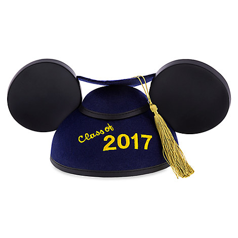 Mickey Mouse Graduation Ear Hat 2017 - Personalizable