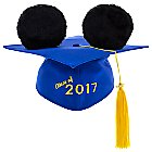 Mickey Mouse Ear Hat Graduation Cap for Adults - 2017