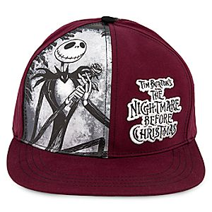 Tim Burton's The Nightmare Before Christmas Baseball Cap - Adults 7514057370091P