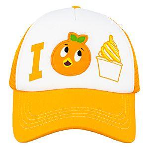 Orange Bird Trucker Hat for Adults
