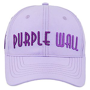 ''Meet Me at the Purple Wall'' Baseball Cap for Adults