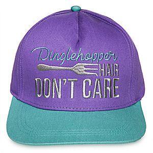 ''Dinglehopper Hair Don't Care'' Baseball Cap for Adults - The Little Mermaid