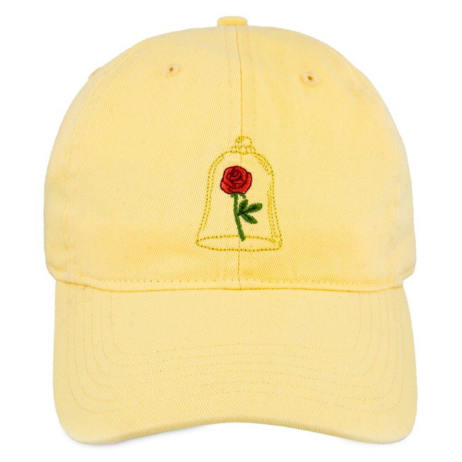Beauty and the Beast Enchanted Rose Baseball Cap for Adults