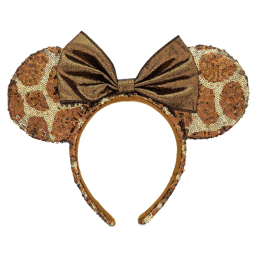 Minnie Mouse Animal Print Ear Headband – Disney's Animal Kingdom