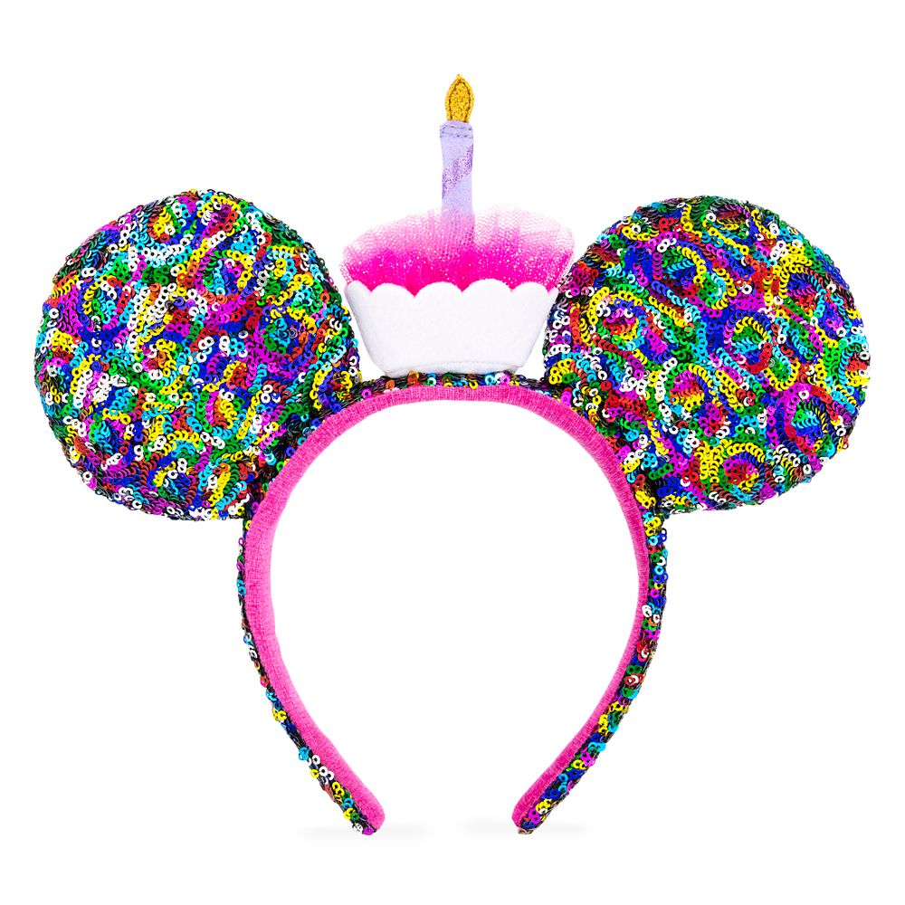 Mickey Mouse Birthday Ear Headband