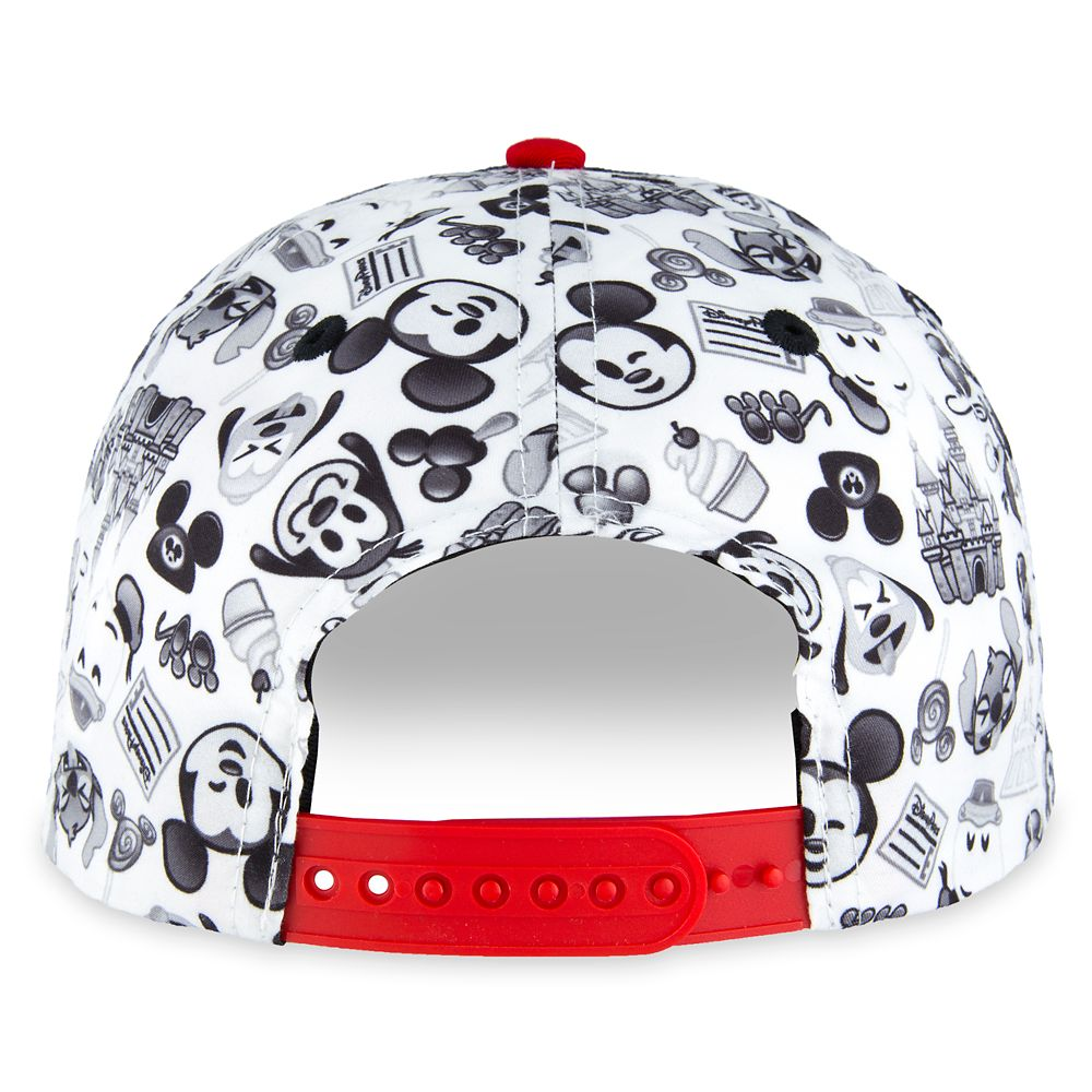 Disney Parks Emoji Baseball Cap with Patches for Adults