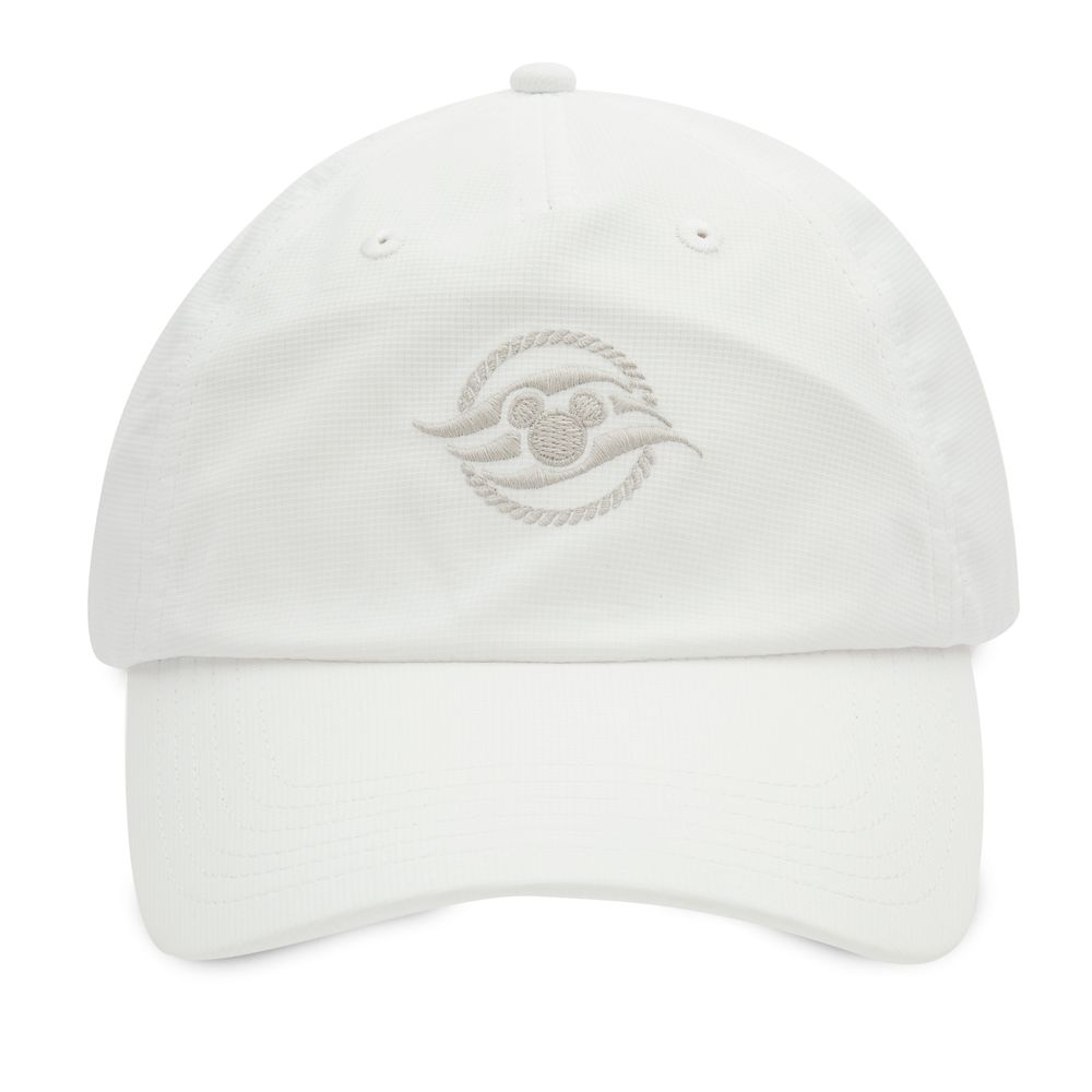Disney Cruise Line Baseball Hat for Adults  White