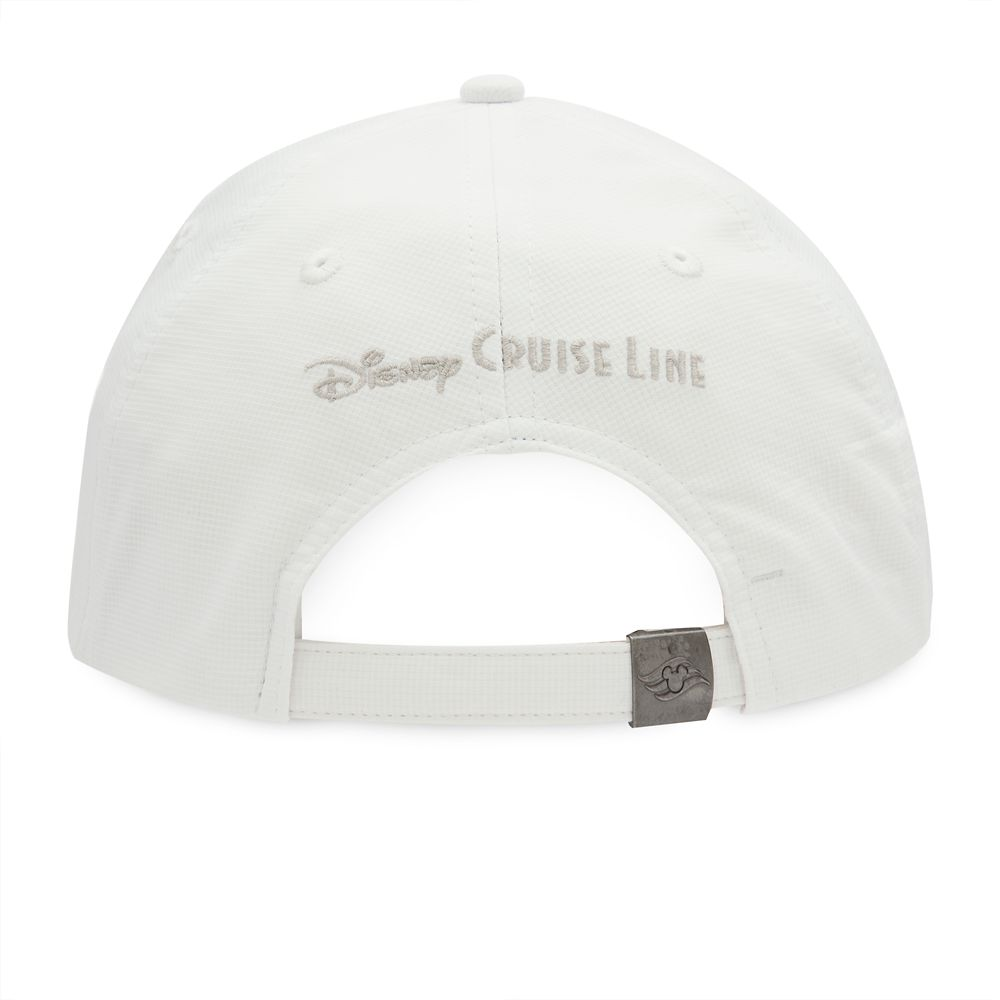 Disney Cruise Line Baseball Hat for Adults – White