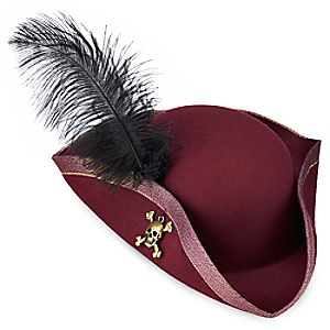 Redd Pirate Hat for Adults - Pirates of the Caribbean