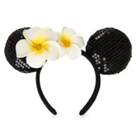 Minnie Mouse Ear Headband with Plumeria – Aulani, A Disney Resort & Spa