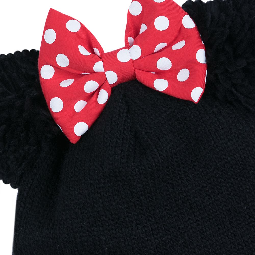 Minnie Mouse Knit Hat for Adults