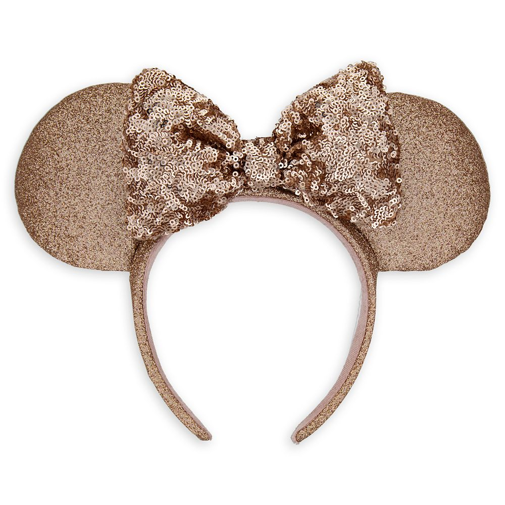 Minnie Mouse Briar Rose Gold Ear Headband Official shopDisney