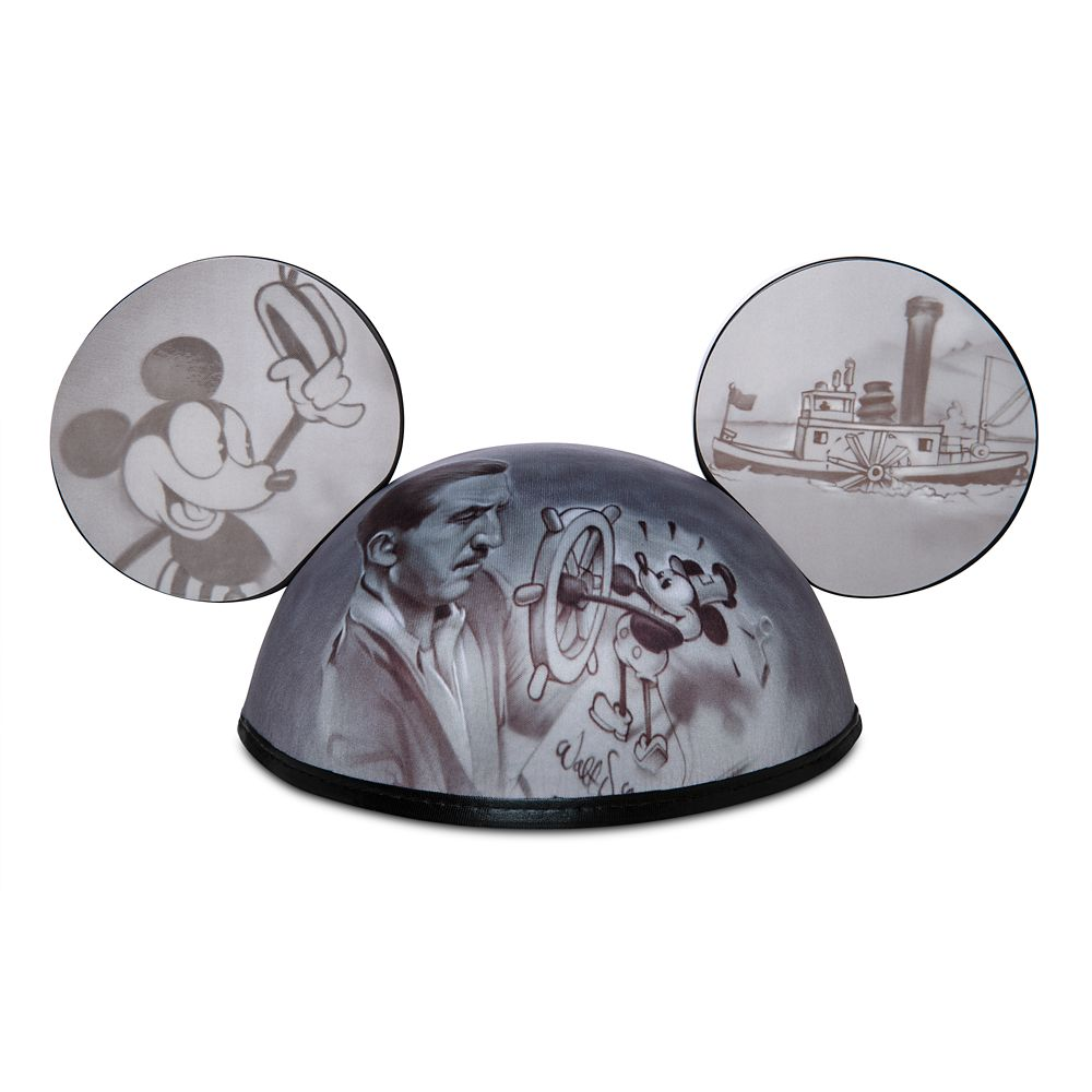Mickey Mouse Steamboat Willie Ear Hat by Noah