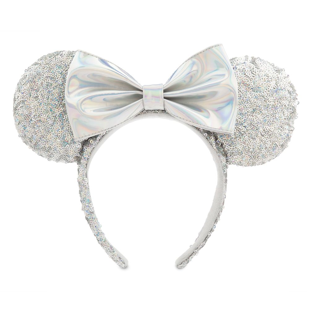 Minnie Mouse Sequined Ear Headband – Magic Mirror Metallic