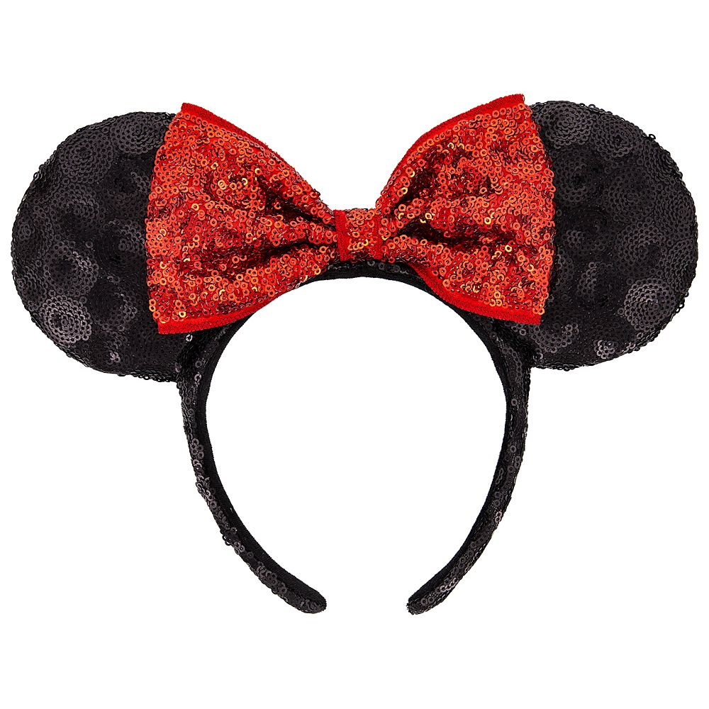 Minnie Mouse Sequin Ear Headband Official shopDisney