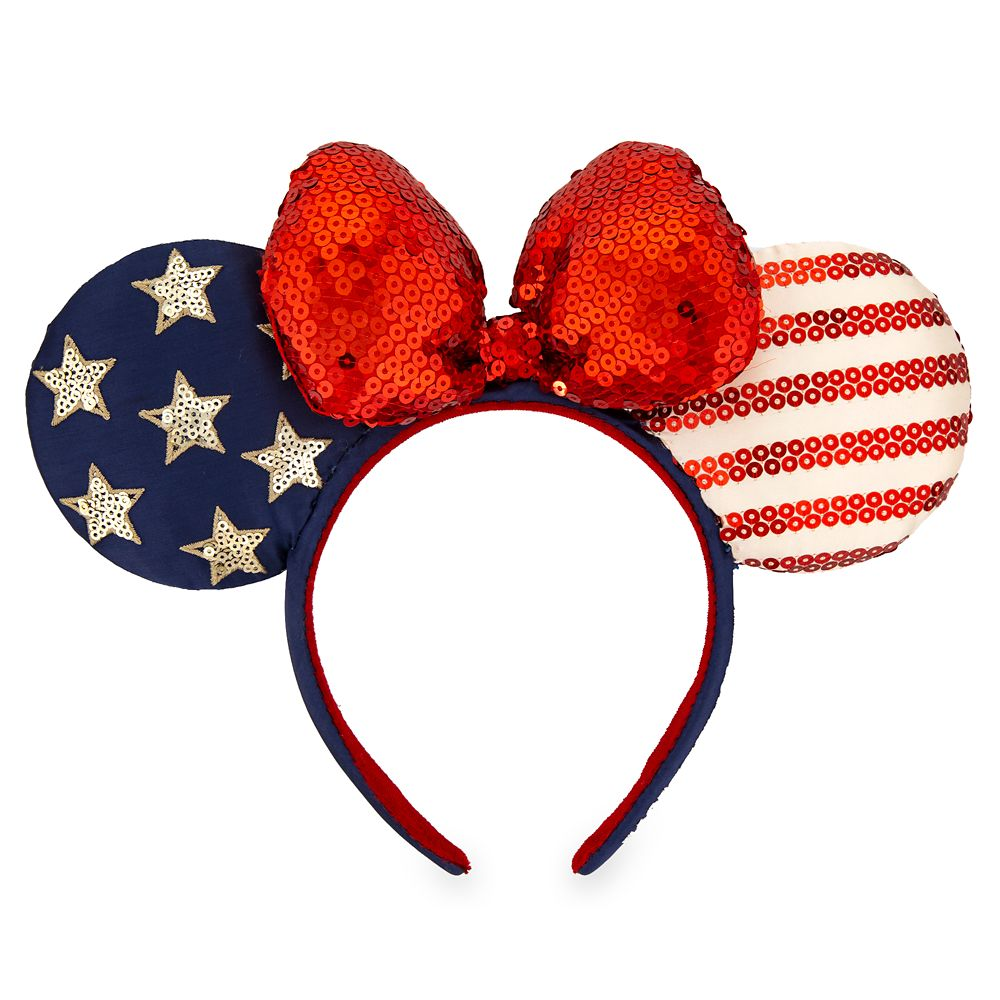 Minnie Mouse Americana Ear Headband