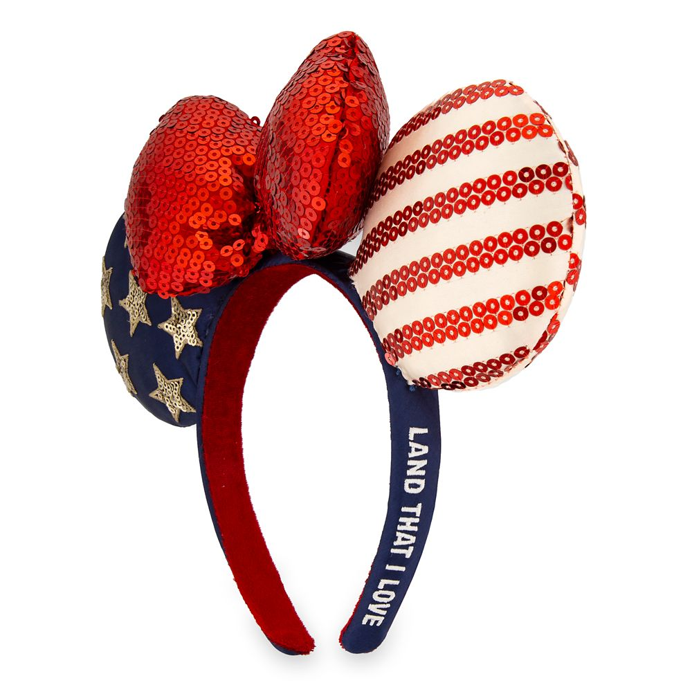 Minnie Mouse Americana Ear Headband