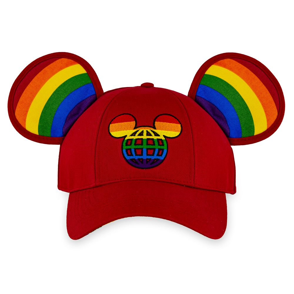 Rainbow Disney Collection Mickey Mouse Ears Baseball Cap for Adults – Walt Disney World