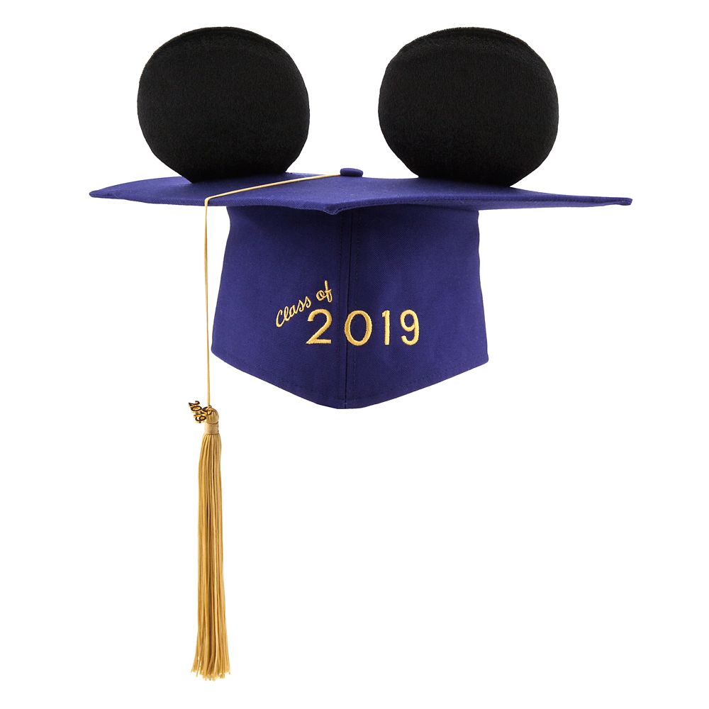 Mickey Mouse Ear Hat Graduation Cap for Adults  2019 Official shopDisney