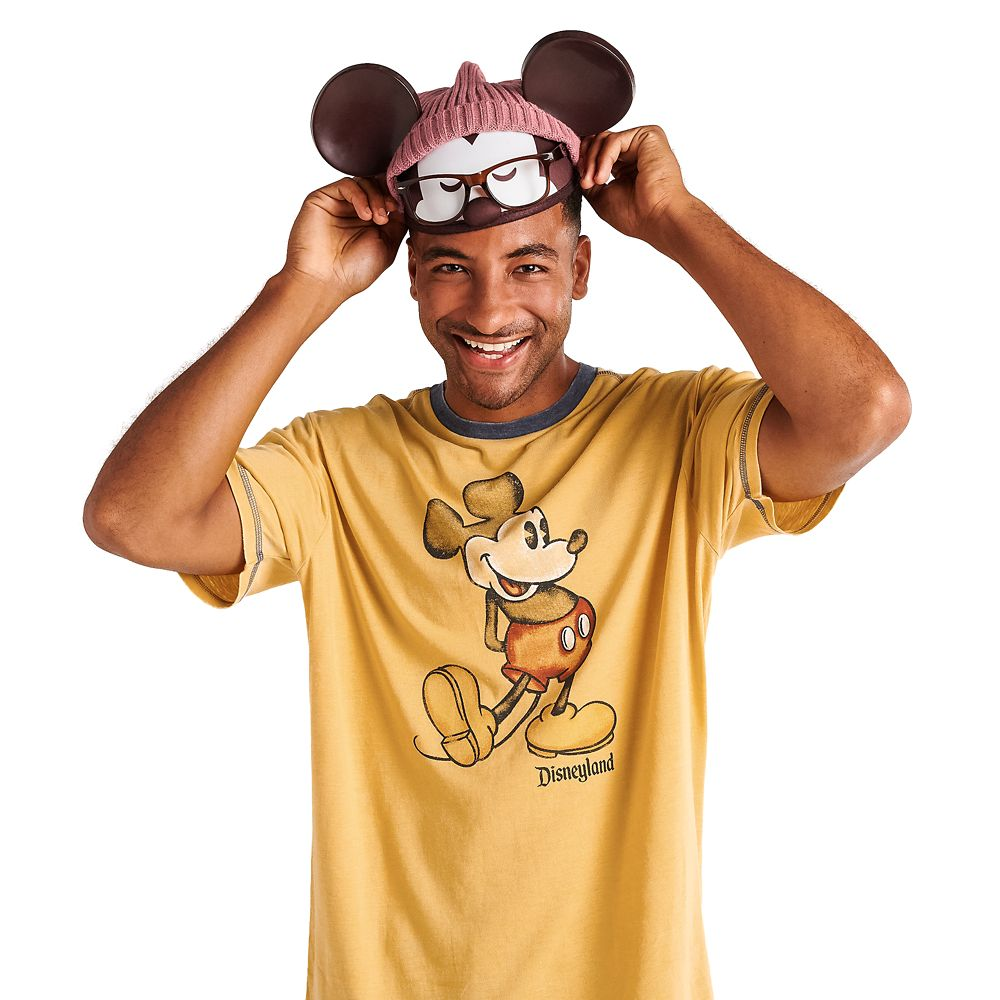Hipster Mickey Mouse Ear Hat for Adults by Jerrod Maruyama – Limited Release