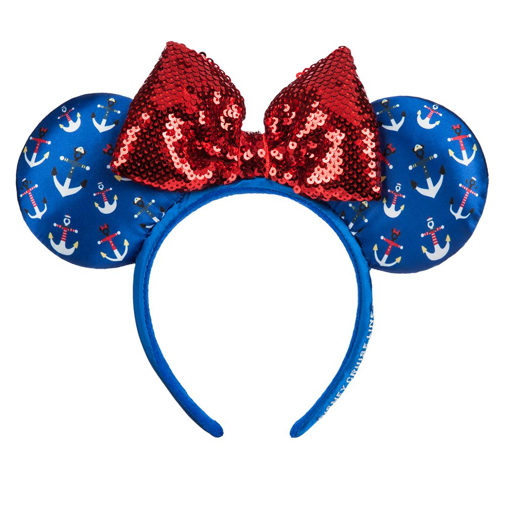 Minnie Mouse Disney Cruise Line Ear Headband