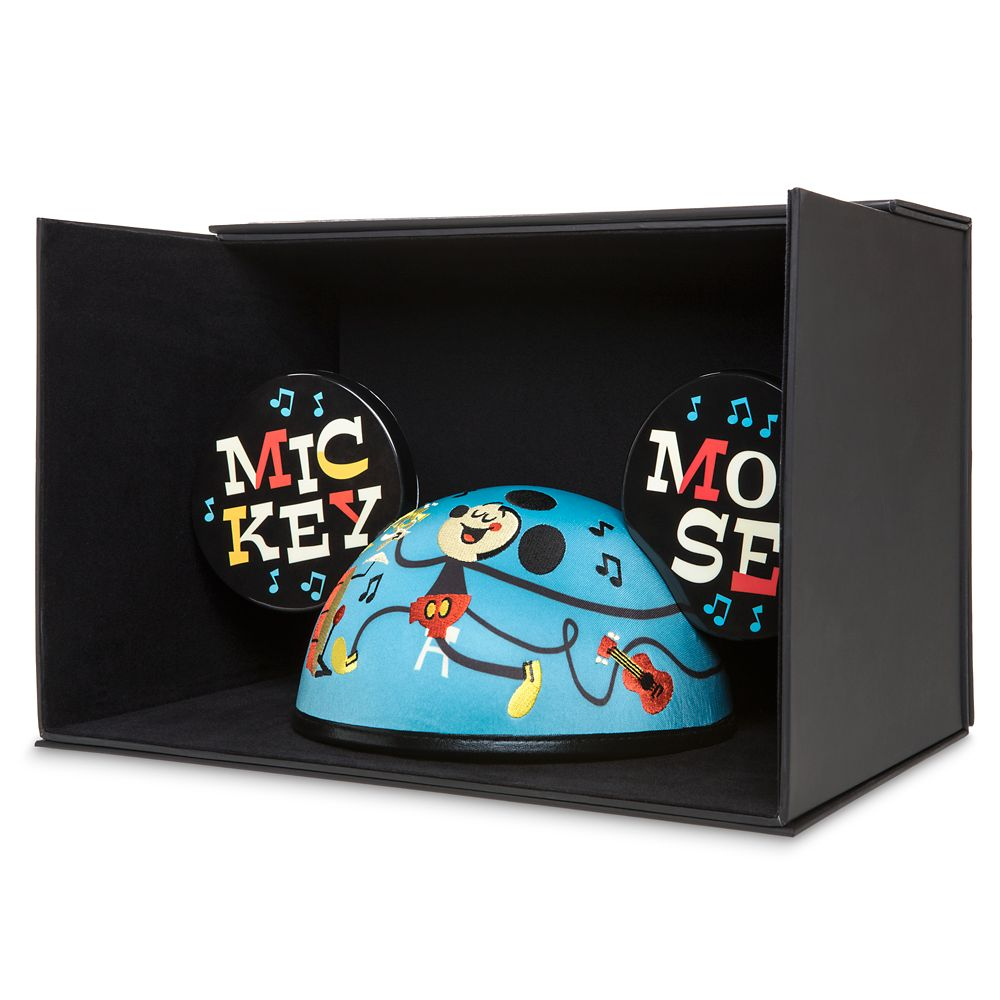Mickey Mouse Musical Ear Hat for Adults by Dave Perillo – Limited Release