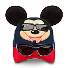 Mickey Mouse Baseball Cap for Toddlers with Sunglasses